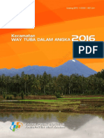 Kecamatan Way Tuba Dalam Angka 2016