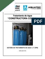 Oferta de PTAP 11gpm (Constructora CONCO)