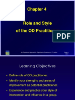 Role and Style of the OD Practitione