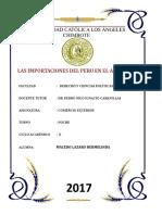 Importaciones en El Peru 2016