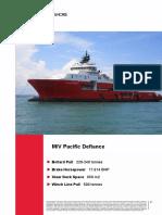 MV Pacific Defiance