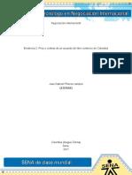 Evidencia 2 Pros y Contras de Un Acuerdo de Libre Comercio de Colombia(1)