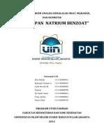 217877116 Laporan Penetapan Natrium Benzoat
