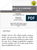Responsi Penyakit Demyelinisasi (Multiple Sklerosis)