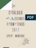 Catálogo de Acciones Formativas