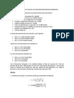 Ejercicio Cálculo Flujo de Caja Aplicando Matemáticas Financieras
