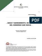 35 2016 07 Agua Saneamiento Agenda IEE