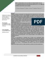 Impacto de Una Charla Sobre La Influencia de Los Espacios Publicitarios en Los Conocimientos y Actitudes de La Alimentación en Los Preadolescentes de 11 a 12 Años de La Unidad Educativa Eloy Alfaro 1