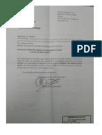 Solicitud de reconomiento a Don Mariano García Benito