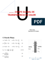 FT2 Coeficiente Global de Transferência de Calor U