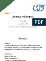 case abortus incomplete.pptx