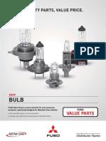 Fuso Value Parts Bulb
