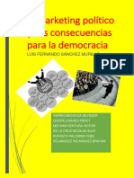 El Marketing Político y Sus Consecuencias Para La Democracia