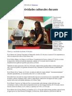 23/07/17 Ofrece ISC actividades culturales durante vacaciones -Canal Sonora