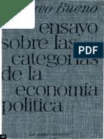 """Gustavo Bueno, """"Ensayo sobre las categorías de la Economía política"""" (entero)"""