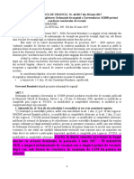 OUG NR. 46 DIN 2017 Pentru Modificarea Şi Completarea OUG Nr. 8 Din 2009 Privind Acordarea Voucherelor de Vacanţă