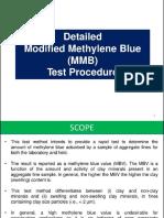 Modified Methylene Blue Test