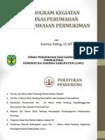 Program Kegiatan Dinas Perumahan Dan Kawasan Permukiman Kab. Luwu PDF