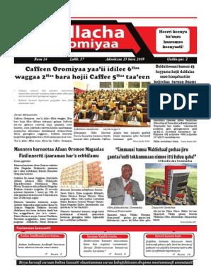 Kallach Oromiyaa Bara 24 Lakk  37