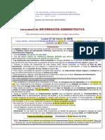 Resumen Informacion Administrativa Docm Boe y Otras Fuentes