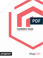 MagiCAD for AutoCAD Installation Guide