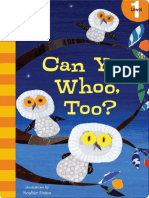 Can You Whoo Too