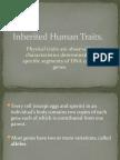 Inherited Human Traits