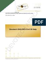 Devotech IDAS-DPX-Civil 3D Help-V9.x.x.x (2)