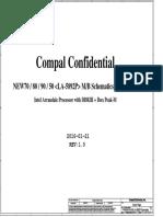 Compal La-5892p r1.0 Schematics