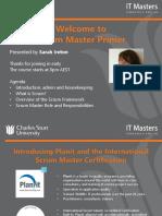 FREE SHORT COURSE - Scrum Master Primer - Webinar 1 of 3