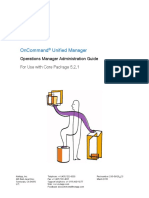 OnCommand Unified Manager Core Package Admin Guide