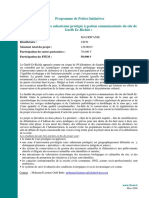 Fiche PPI Mauritanie UICN