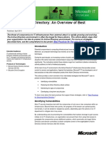 3114 Securing Active Directory an Overview of Best Practices Article