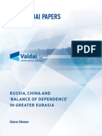 Diesen_Russia, China and 'Balance of Dependence' in Greater Eurasia