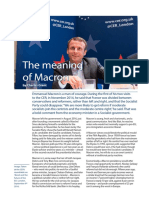 The Meaning of Macron