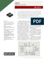 AMI Backplane Controller MG9070 Data Sheet