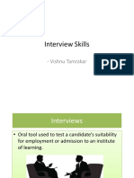 Interview Skill Vishnu