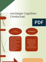 Psicología Cognitivo-Conductual