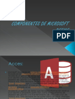 COMPONENTES MICROSOFT OFFICE