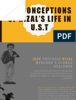 Misconceptions of Rizal's Life in u