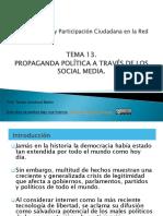 Comunicación y participación ciudadana en la red Tema13