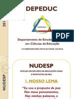 Nudesp Depeduc 2016 Oficial Em PDF - Apresentação 05mar16