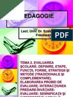 Frasineanu-Evaluarea