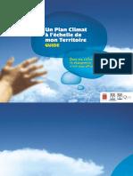 Un plan climat à l'échelle de mon territoire - 2005