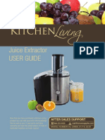 1.8.14 Kitchen Living Juice Extractor Warranty Manual