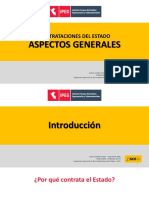 Contrataciones del Estado - Aspectos Generales