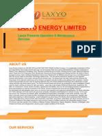 Operation & Maintenance – Laxyo Energy Limited