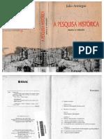 [1]ARÓSTEGUI - A Pesquisa Histórica