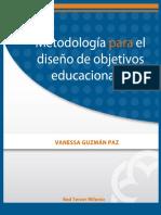 Metodologia Para El Diseño de Objetivos Educa