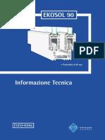 Catalogo Tecnico EKOSOL90